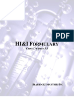 Formulary HI&I Version 5.5