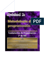 UNIDAD 2 -METODOLOGÍA DE LA PROGRAMACIÓN