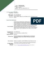 UT Dallas Syllabus for dmthd293.001.11f taught by Leszek Kisielewski (leskay)