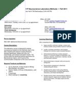 UT Dallas Syllabus for nsc4353.001.11f taught by Jonathan Ploski (jep101000)