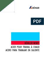 Catalogo Acero Trabajo en Caliente w302 Fsp