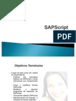 6.- SapScript
