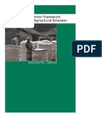 Common Framework on Agricultural Extension