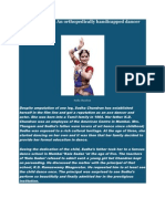 Sudha Chandran an Orthopaedic Ally Handicapped Dancer And