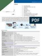 Datasheet VideoServerVS12