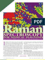 Raman Spectroscopy for Medical Diagnosis