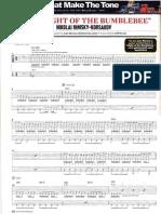 The FLIGHT of the Bumblebee- Tab - Arr_luis Moreno - Guitar World Set2008