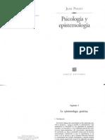 Psicologia y Epistemologia (Cap. 1) - Jean Piaget