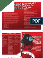 II Encontro Nacional dos Museus de História da Medicina