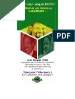 Flyer - Le Cameroun Doit Changer