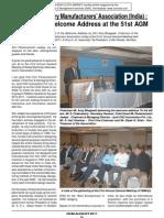 TEXTILE MACHINERY MANUFACTURERS ASSOCIATION  (INDIA) TMMAI