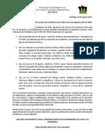 Declaración estudiantes UTEM represión