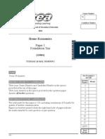 H.E MayJune 2010 Foundation Tier Paper