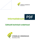 Info Brochure Celhoofd Techn Onderhoud