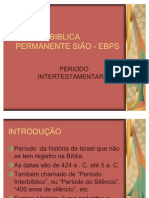 Aula de Periodo Interbiblico