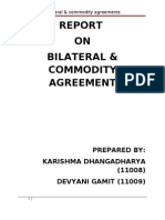 Bilateral & Commodity Agreements