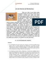 Sermon de Antonio de Montesinos Esquema 4