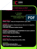 Ciclo Portugal & CPLP 6 - 16 Outubro_CLP_IC Buenos Aires