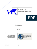 The Database of IFs UPDATE