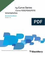 Benutzerhandbuch - Curve 9360