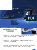 PRESENTATION ON FACEBOOK