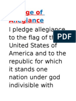 Pledge of Allegiance-Little