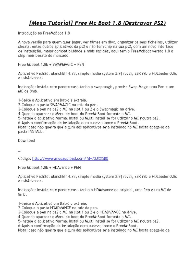 MAGIC MCBOOT PEN FREE BAIXAR 1.8B SWAP