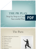 The PR PLAN Step by Step to Creating A
