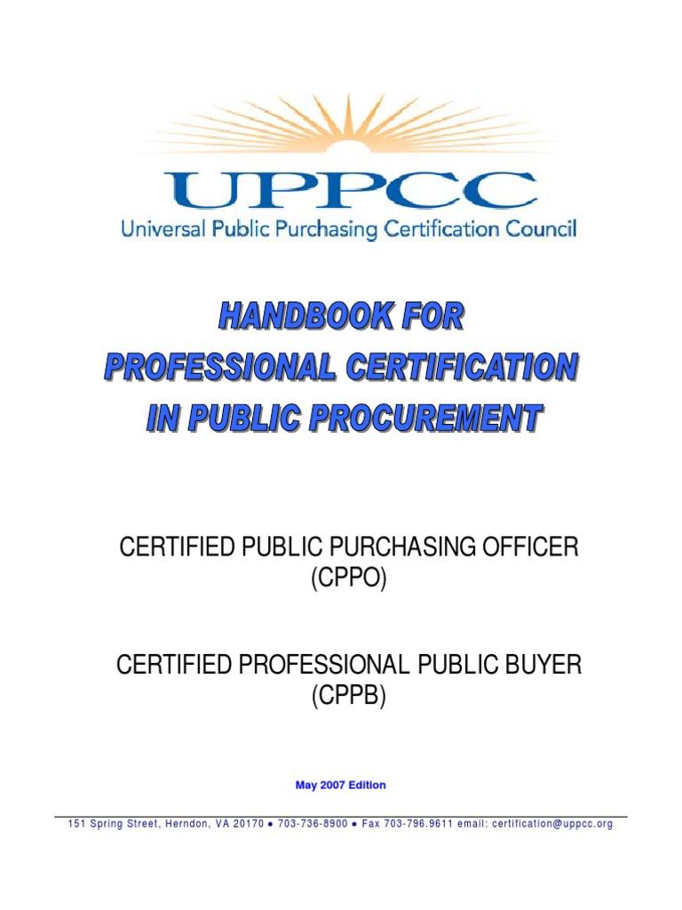 Certification Handbook Professional Certification Test Assessment