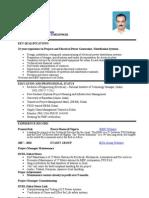 Jitendra Singh CV