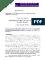 GTC - Fichamento 1 - Marcelo Cunha