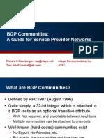 BGPcommunities