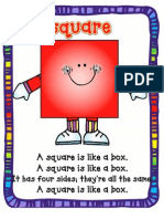 Square Song Poster
