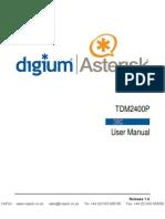 Copia de Digium Tdm2400p Users Manual
