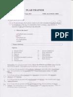 Plab1-Mock Test V