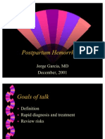 Postpartum Hemorrhage 12-01