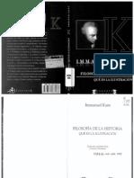 Filosofia de La Historia -Kant