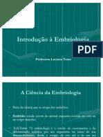 Introdução à Embriologia