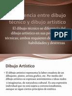 Diferencia Entre Dibujo Tecnico y Artistico