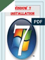 Window++7++Installation