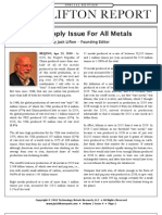 The Supply Issue for All Metals