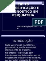 Cid 10 -Classificacao e Diagnostico Em Psiquiatria Eixos