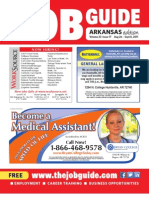 The Job Guide Volume 23 Issue 17 Arkansas