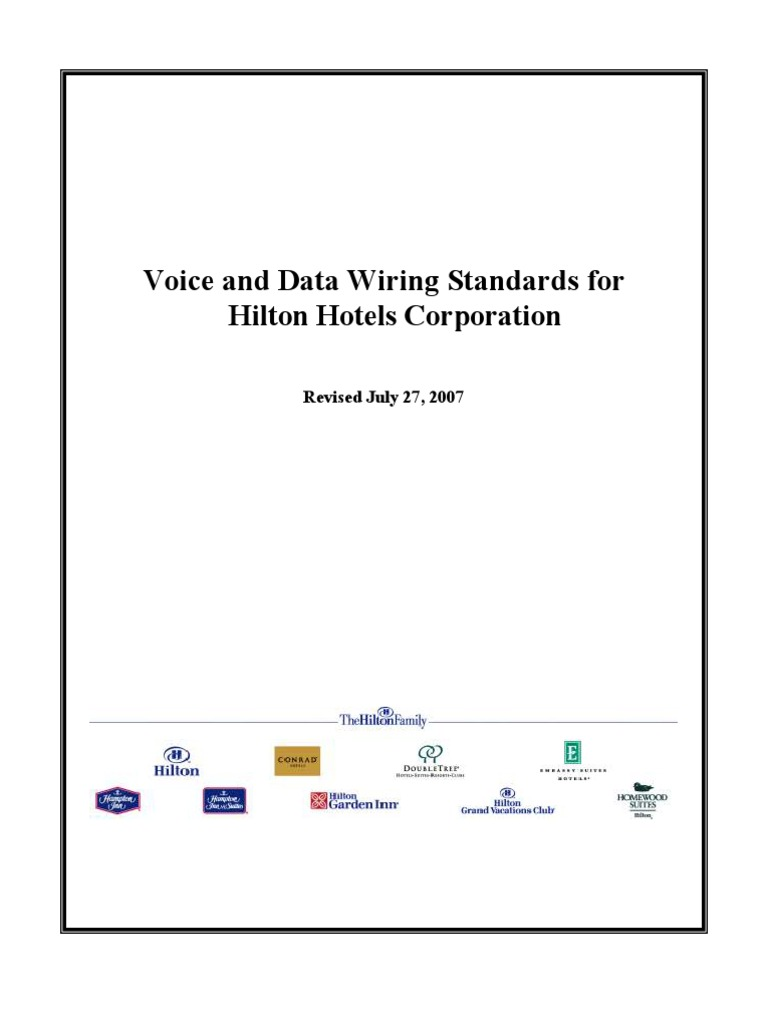 Data Wiring Standards Electrical Diagrams Voice Cable Television Copper Network Cabling