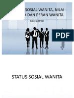 Status Sosial Wanita
