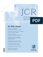 Journal of Cybertherapy and Rehabilitation, Volume 1, Issue 1, Spring 2008