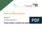 ESA.Módulo3.Ámbito científico tecnolóxico. Unidade3.Teoría cinética e tómica da materia.