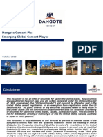 Dangote Investor Presentation October 2010