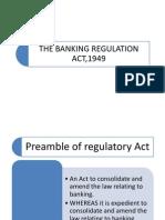 Banking Regulation Act.