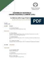 ASSEMBLEA Unione Camere Civili 2008